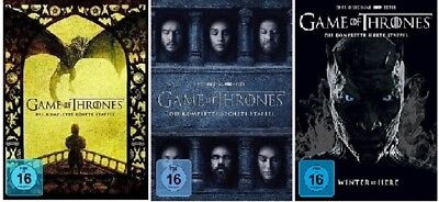Game of Thrones Staffel 5-7 (5+6+7) DVD Set NEU OVP
