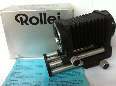 Rollei SL35 Macro Auto Focusing Rail Bellows Accessory/More bellows for Digital