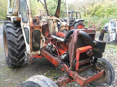 DAVID BROWN 995 TRACTOR Breaking for spares/power steering, bonnet, wheels.