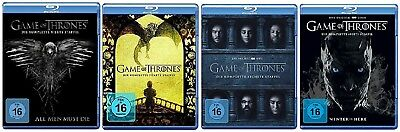 Game of Thrones Staffel 4-7 (4+5+6+7) Blu-ray Set NEU OVP