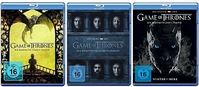 Game of Thrones Staffel 5-7 (5+6+7) Blu-ray Set NEU OVP