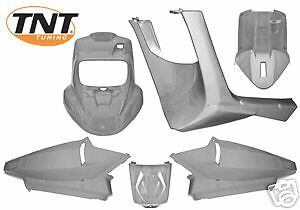 Fairing Set in Silver MBK BOOSTER or Yamaha BWS