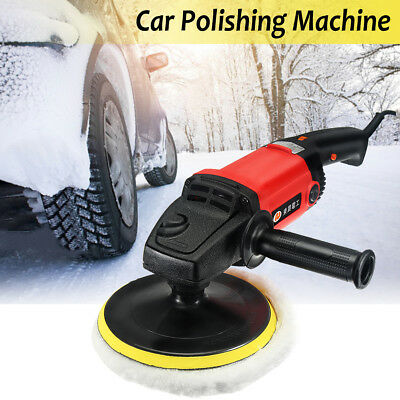 "7"" Electric Variable Speed Car Polisher Buffer Waxer Sander Detail Boat"