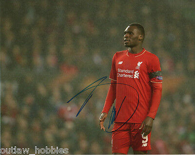 Liverpool FC Christian Benteke Autographed Signed 8x10 Photo COA