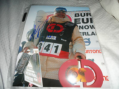 Team Norway Snowboarder Lisa Wiik Signed Autographed 8x10 COA