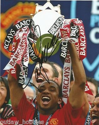 Manchester United Anderson Autographed Signed 8x10 Photo COA
