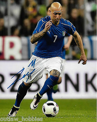 Italy Simone Zaza Autographed Signed 8x10 Photo COA