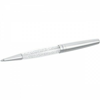 Swarovski Crystal Stardust Ballpoint Pen Cry 5064408.new In Pouch.