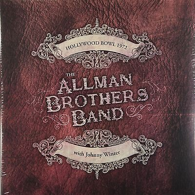 The Allman Brothers - Hollywood Bowl 1972 (Limited 2 x 140g Vinyl) New & Sealed