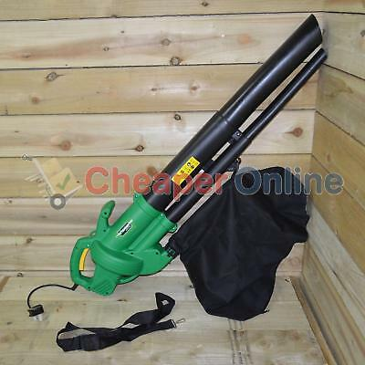 2,600w Electric Garden Leaf Blower & Vac with 35 Litre Collection Bag