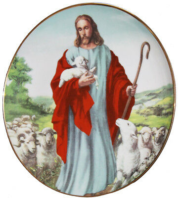Franklin Mint The Lord is My Shepherd Plate by Alton S Tobey