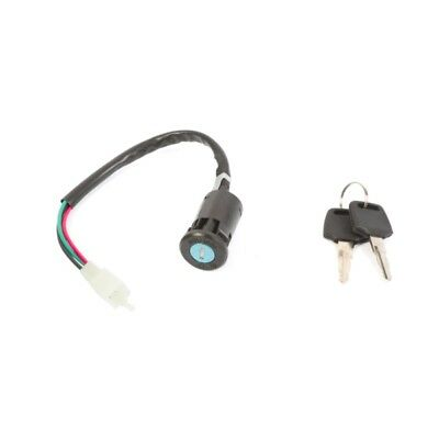 OUTSIDE DISTRIBUTING Key Switch 4-Wire and Female Plug  Part# 07-0505