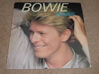 """David Bowie """"bowie Rare"""" 1982 Rca Vinyl Album Imported From Italy...."""