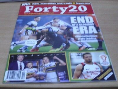 Forty 20 The Rugby League magazine Oct 2017 McGuire gives Leeds a grand farewell