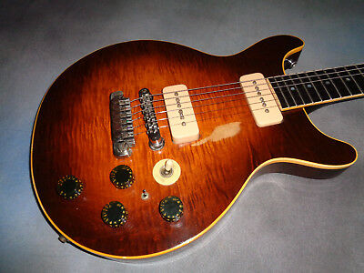 1980 Gibson Les Paul Double Cutaway  Sunburst Flame  #4 of 50 Made