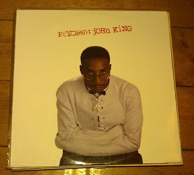 John King - Psyched Lp W437 Wirl 1994 Nm!