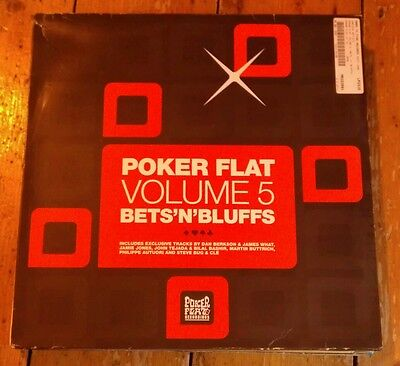 Poker Flat Volume 5 Bets'n'bluffs 2Xlp Pfrlp19 2006 Vg+!