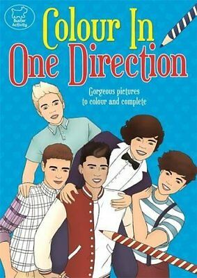 Colour In One Direction (Buster Activity), Fearns, Georgie, New Book