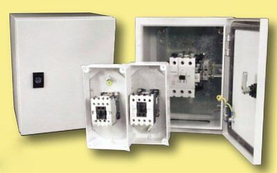 80A 33kW 3p Contactor 230V Coil Metal IP65 Electrical Enclosure Cabinet Outside