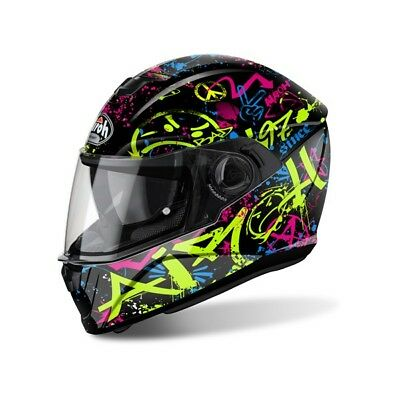763381 AIROH INTEGRAL HELM Motorradhelm STORM COOL BICOLOR XL