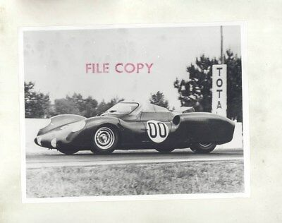 1963 Rover BRM I Turbine Race Car ORIGINAL Factory Photograph wy5875