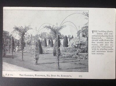 The Gardens, Hardwick, Nr Bury St Edmunds (early 20th century)