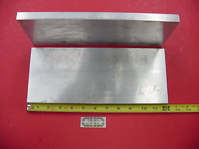 "2 Pieces 5/8""x 5"" ALUMINUM 6061 FLAT BAR 12"" Long T6511 Solid Plate Mill Stock"