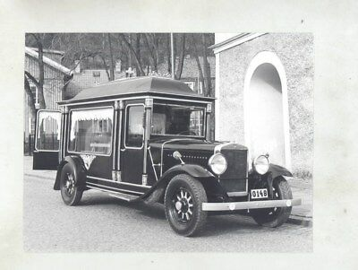 1930 ? Volvo Hearse ORIGINAL Factory Photograph wy7166