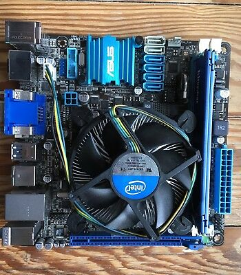 Asus P8H77-I Board + Intel Core i5-3470 @ 3.20 GHz +  4GB Kingston DDR3-1600 TOP