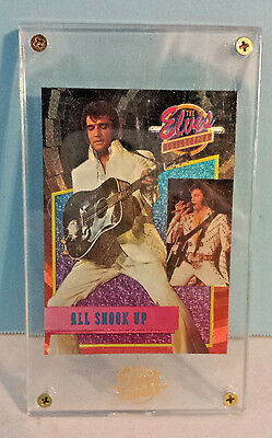 ELVIS  All Shook Up 1992 Trading Card from The Elvis Collection Bricked #34