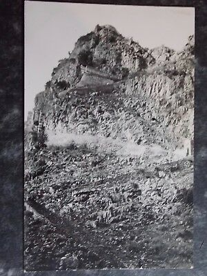 CHINA LONG TCHEOU - RPPC Stairs up to the village