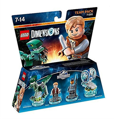 Toys-Lego Dimensions: Team Pack - Jurassic World /Video Game Toy  GAME NEW