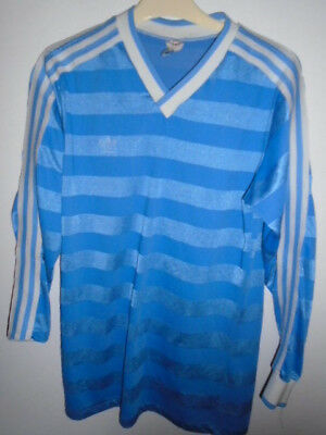 Vintage Adidas Football shirt Medium Long sleeves Made in West Germany