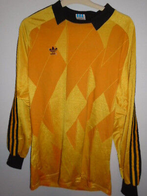 Vintage Adidas Goalkeeper Hubert Birkenmeir 30 shirt Large West Germany