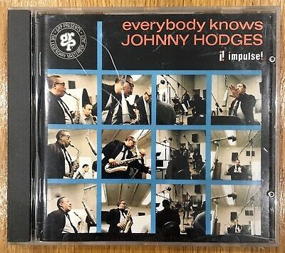 Johnny Hodges - Everybody Knows  - Cd