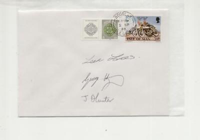 Isle of Man 1986 Manx Grand Prix Newcomers Signed Winners Cover