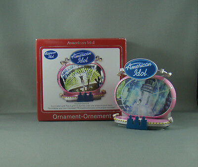 New Carlton American Idol Christmas Ornament Sound - Lights Up - Recordable 2008