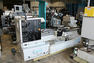 "Clausing Colchester Mascot V/S Removable Gap Bed Lathe 18"" - 30"" x 60"""