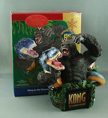 New Carlton American Greetings King Kong to the Rescue Sound Christmas Ornament