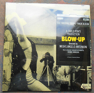 "LP HERBIE HANCOCK OST ""Blow-Up"" US, SEALED"