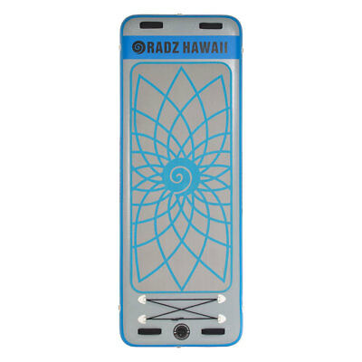 Radz Hawaii Yoga Mat 7'11'' 7´ 11´´ Grey   Blue