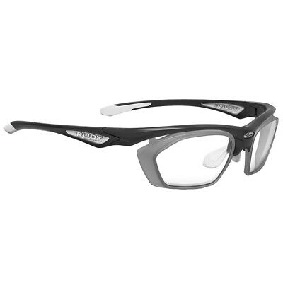 Rudy Project Stratofly Frame And Optical Dock One Size Black Gloss   Frozen Ash