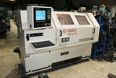 "Jet CL-1640ZX Removable Gap Bed CNC Lathe 16"" - 25.5"" x 40"""