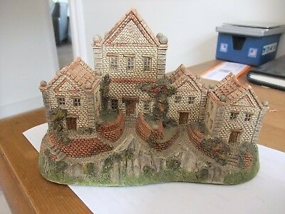 Superb David Winter The Alms Houses Early Version 1983