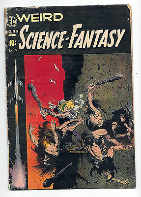 WEIRD SCIENCE-FANTASY # 29 Good+ 2.5 looks nice but spine is split