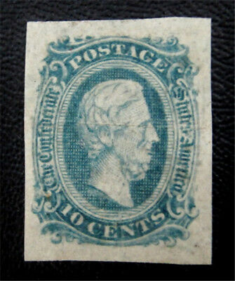 nystamps US CSA Confederate Stamp # 11 Mint $16