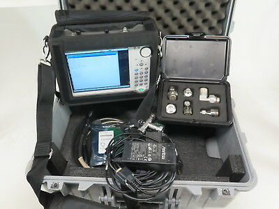Anritsu S332E Sitemaster Cable/Antenna & Cable Analyzer w/ Opts 10/21 + Kit
