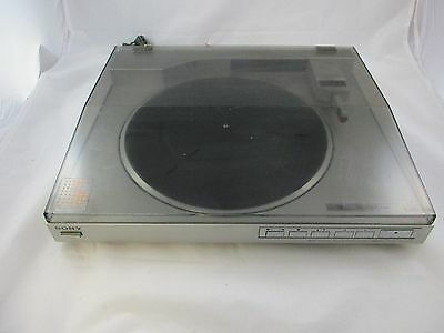 vintage: SONY PS-LX510 linear tracking / fully automatic stereo turntable system