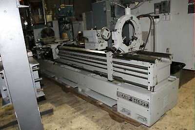 "Sharp 24120V Removable Gap Bed Lathe 24"" - 30"" x 10'"