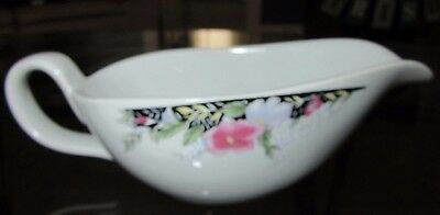 Floral Print Gravy Boat For Your Dinner Table Nice